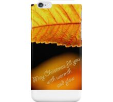 Glowing Wishes at Christmas iPhone Case/Skin
