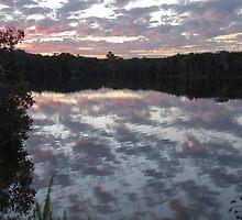 Sunset Currimundi by Richard  Stanley