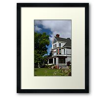Gingerbread Architecture 2 Framed Print
