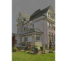 House And Garden Photographic Print