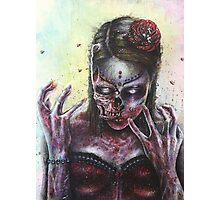 Dead Girl Photographic Print