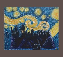 Dr Who Hogwarts Starry Night Kids Clothes