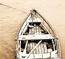 Old Row Boat  by Nancy Stafford
