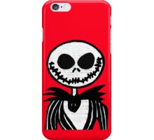 Jack on Red  iPhone Case/Skin