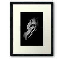 anya b/w 1 Framed Print