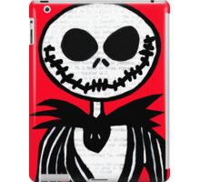 Jack on Red  iPad Case/Skin