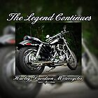 The Legend Continues by Greeting Cards by Tracy DeVore