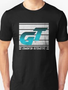 Edmonton Auto - Cyan & White T-Shirt