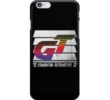Edmonton Auto - 80's Sunset - Slotted Up iPhone Case/Skin