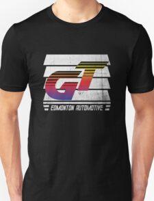 Edmonton Auto - 80's Sunset - Slotted Up T-Shirt