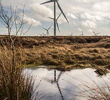Windfarm. by BiffiB