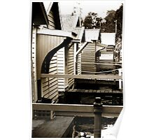 Boat Houses II Poster