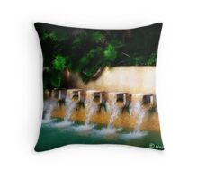 Hyatt Fountain Throw Pillow