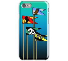 Harry Potter House Flags iPhone Case/Skin