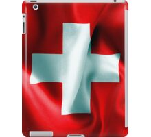 Switzerland Flag iPad Case/Skin