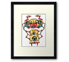 Robo Fan Framed Print