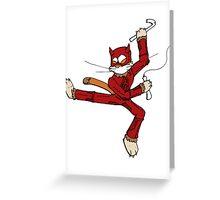 catdevil Greeting Card