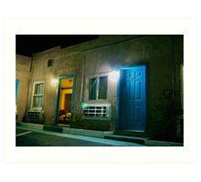 Motel - Barstow CA USA Art Print
