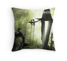 Tree Dweller Throw Pillow