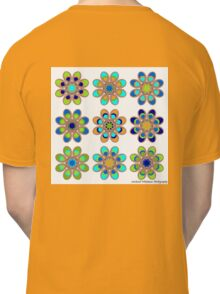 Peacock Foot Flowers Classic T-Shirt