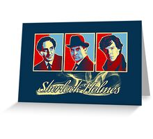 Sherlock Trilogy x3 - RYB (Card) Greeting Card