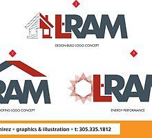 L-RAM logo concepts by omar305
