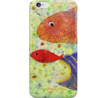 FISH PLAYING NAME THAT TUNA iPhone Case/Skin