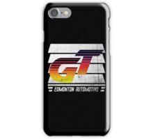 Edmonton Auto - 80's Sunrise - Slotted Up iPhone Case/Skin
