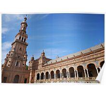 Plaza España Sevilla Poster