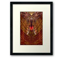 firefly... Framed Print