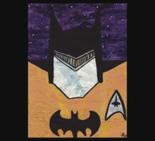 Batman as Geordi La Forge One Piece - Short Sleeve