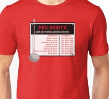 Red Shirt's Death Forecasting Stone Unisex T-Shirt