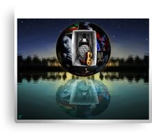 """""""TheSoulInWhite"""" - Recited Video-Poem.YouTube Canvas Print"""
