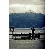 Mountain alps Photographic Print