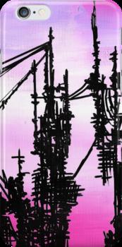 Post Apocalyptic Skyline by jerasky