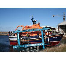 Shipbuilding and repairs - Buckie, Scotland Photographic Print
