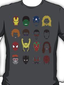 Simple Marvel Heroes T-Shirt