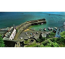 Clovelly Harbour, Devon, England Photographic Print