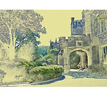 Castle View (Walking up the Hill) Photographic Print