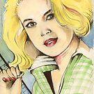 Sandra Dee ( circa 1961 ) by John Dicandia ( JinnDoW )