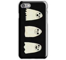 Three Spooky Ghosts iPhone Case/Skin