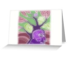 TREE BE WE Greeting Card
