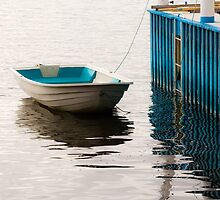 Blue Dinghy by Kristi Robertson