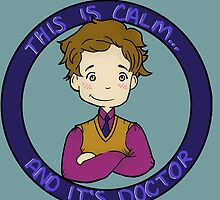 This is calm and it's doctor by gingerkatie