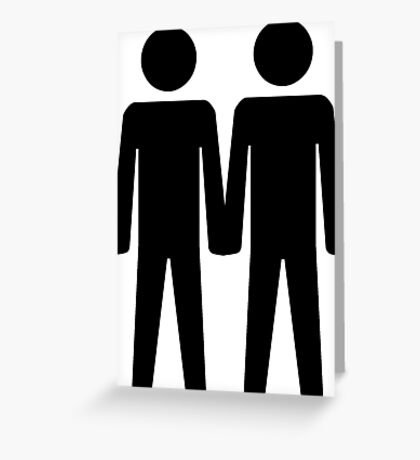 Gay Couple Greeting Card