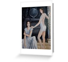 Duality of spirit-Isis warrior Greeting Card