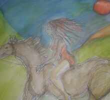 Horse Goddess by Anthea  Slade