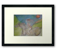 Horse Goddess Framed Print