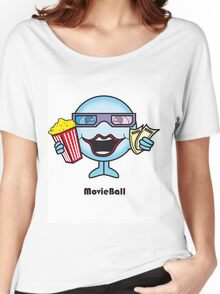 Movie Ball Women's Relaxed Fit T-Shirt