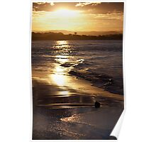 Maroochy Sunset Poster